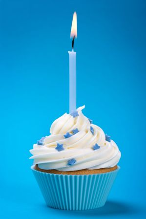 Great Cupcake Links Colour Flame Birthday Candles